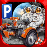 3D Space Race Parking Simulator