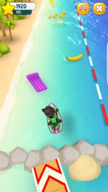 Talking Tom Jetski for Samsung Galaxy S4 Mini