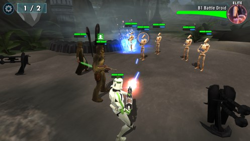Star Wars™: Galaxy of Heroes for LG Optimus 2X