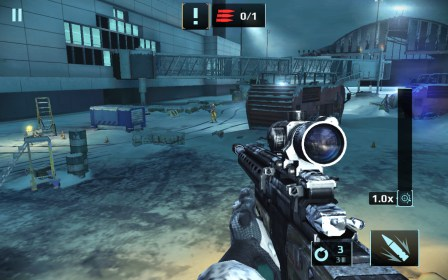 Sniper Fury: best shooter game for Fly IQ431 Glory