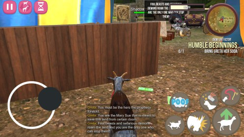 Goat Simulator MMO Simulator for Alcatel One Touch Pixi 4007D