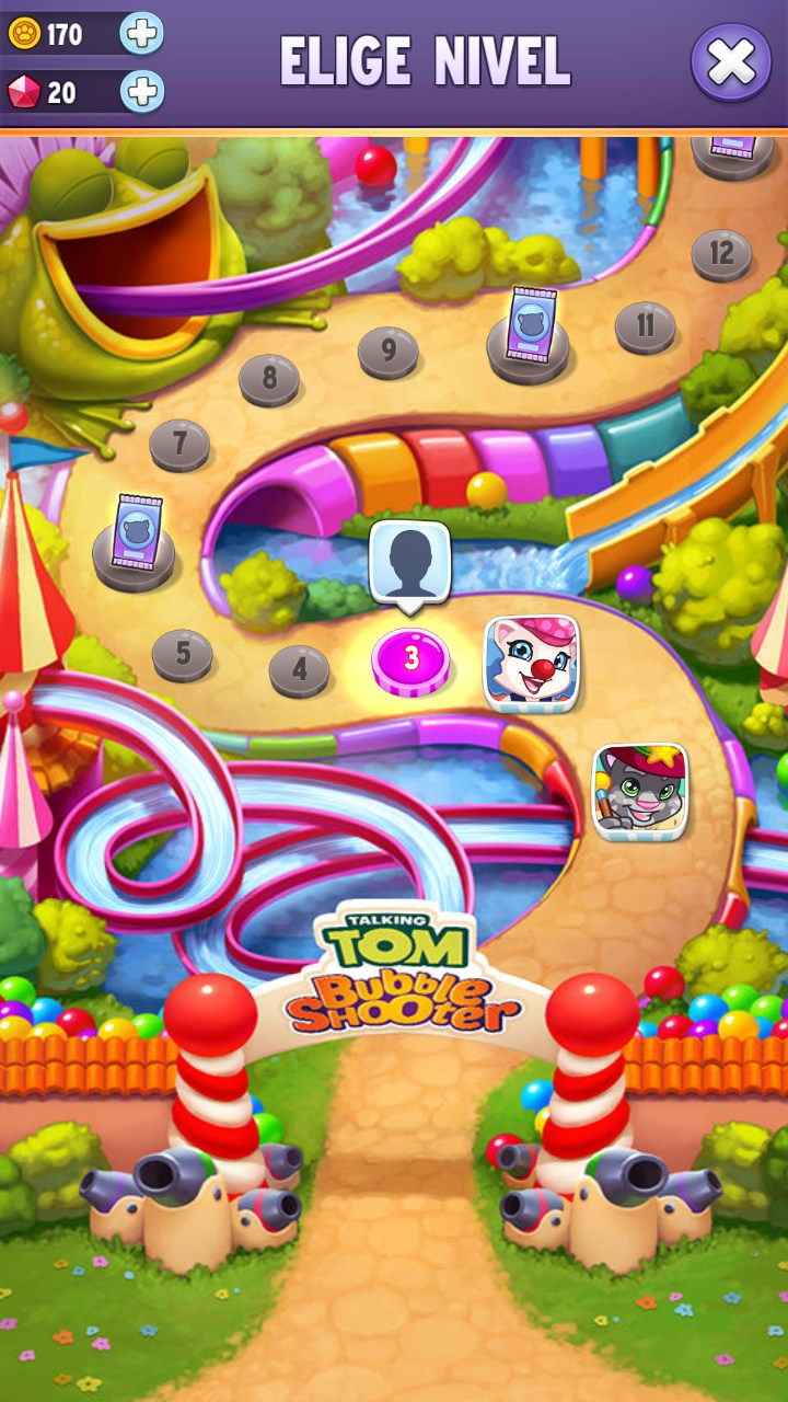 Talking Tom Bubble Shooter Para Alcatel One Touch T Pop 2018