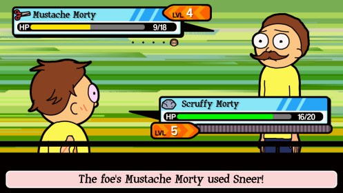 Pocket Mortys for Samsung Galaxy Fame