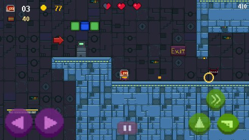 Super Mustache platformer for Samsung Galaxy Star