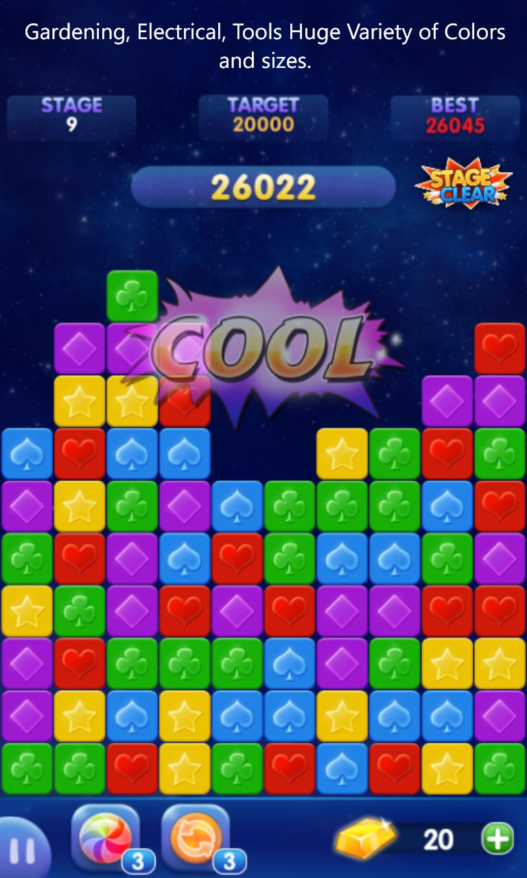 Block Puzzle Poppoker Games For Windows Phone 2018