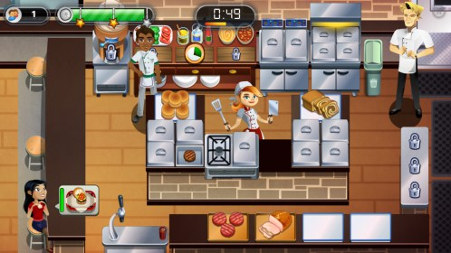 RESTAURANT DASH, GORDON RAMSAY for Samsung GT-S5360 Galaxy Y