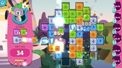 My Little Pony: Puzzle Party for Samsung Galaxy S4 Mini