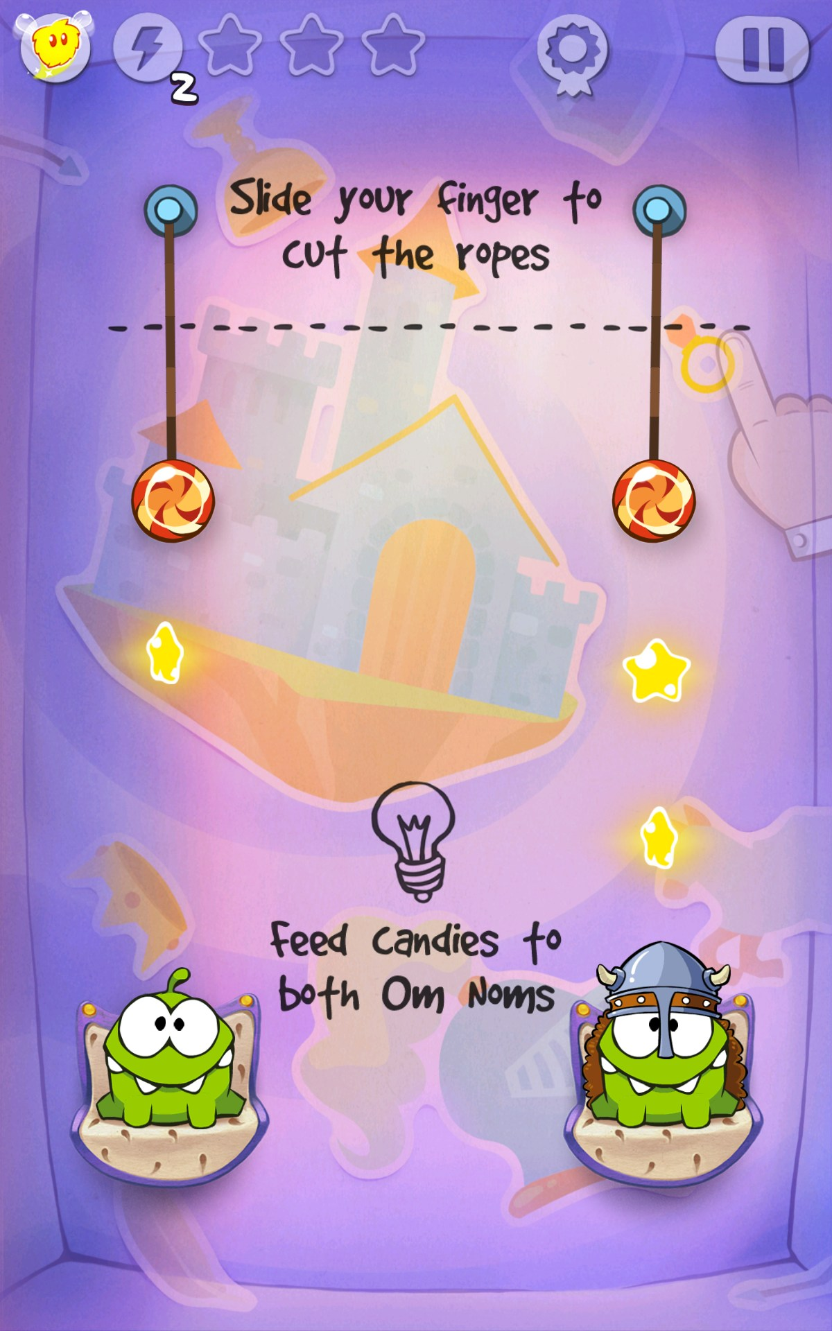 CUT THE ROPE: TIME TRAVEL - Online Games on Poki