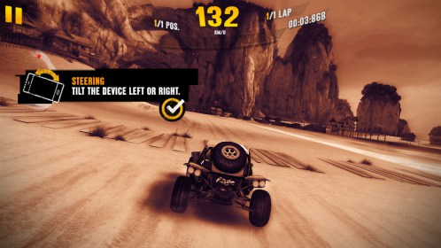Asphalt Xtreme: Rally Racing for Philips W536