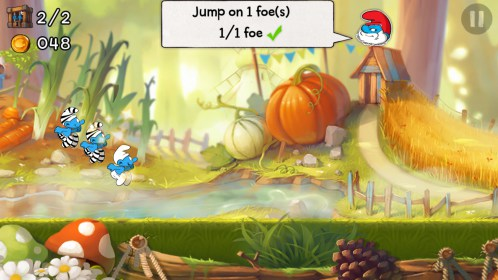 Smurfs Epic Run for HTC Sensation XE