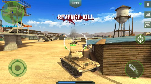 War Machines: Free Multiplayer Tank Shooting Games for Kyocera Torque E6710