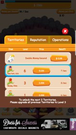 Oil Tycoon - Idle Clicker Game for Sony Ericsson Xperia X10 mini pro