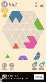 Make Hexa Puzzle for China Star A7272+