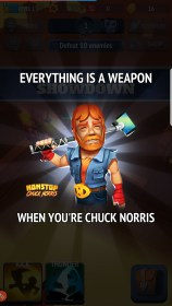 Nonstop Chuck Norris for Samsung GT-S7562 Galaxy S Duos