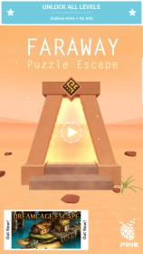 Faraway: Puzzle Escape for Motorola Milestone XT720