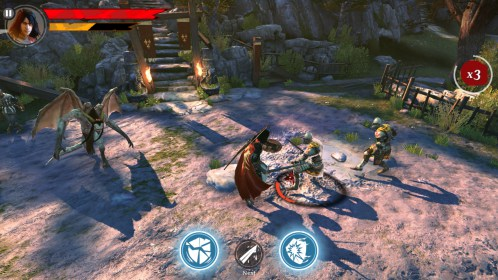 Iron Blade: Medieval RPG for HTC Desire L