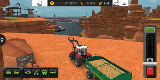 Farming Simulator 18 for Samsung SM-G925F Galaxy S6 Edge