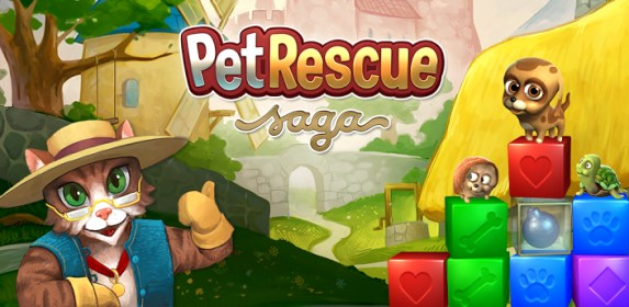 Pet Rescue Saga for HTC Desire S