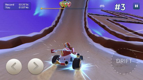 Starlit On Wheels: Super Kart