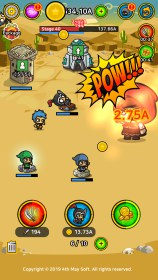 Battle Heroes : Merge Idle Tycoon