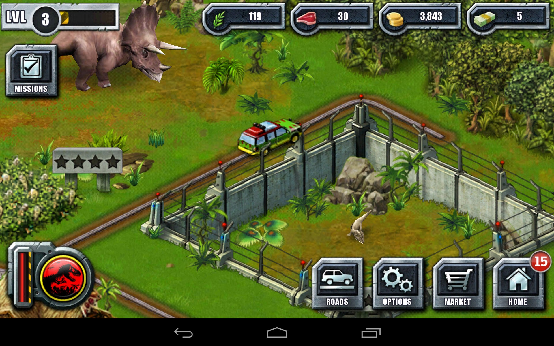 Jurassic Park Game Build Your Own Park Online Free
