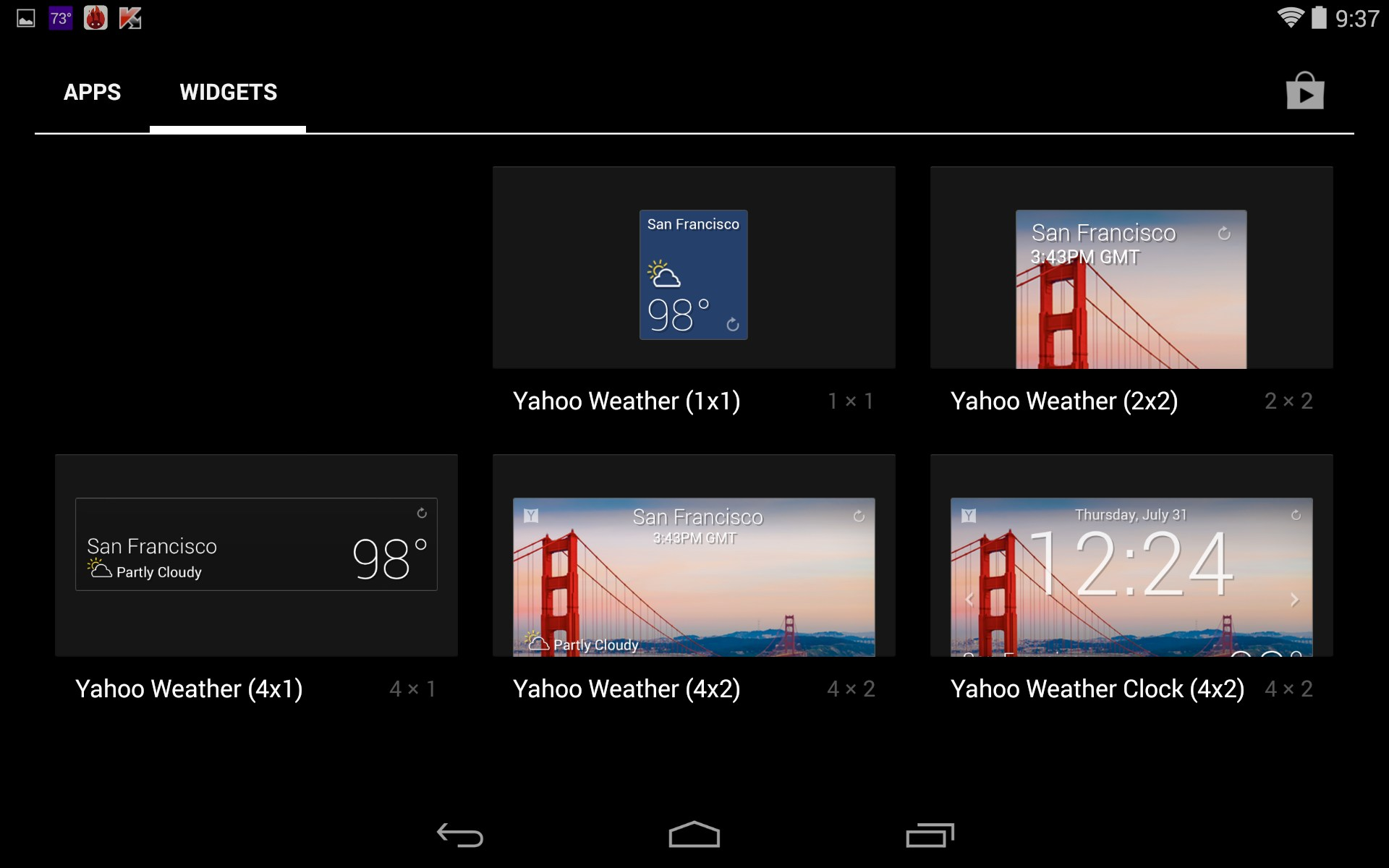 yahoo weather  u2013 soft for android 2018  u2013 free download