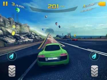 Asphalt 8: Airborne para Alcatel One Touch T Pop