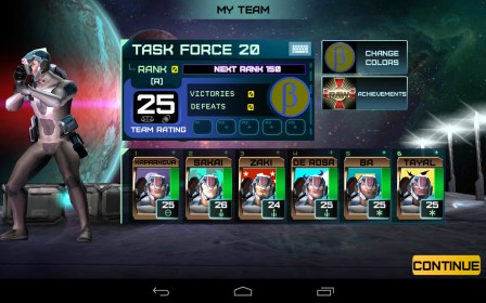 Rivals At War: 2084 para LG Optimus F3