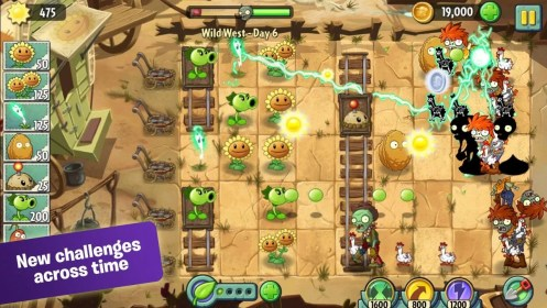 Plants vs. Zombies 2 for Sony Xperia U