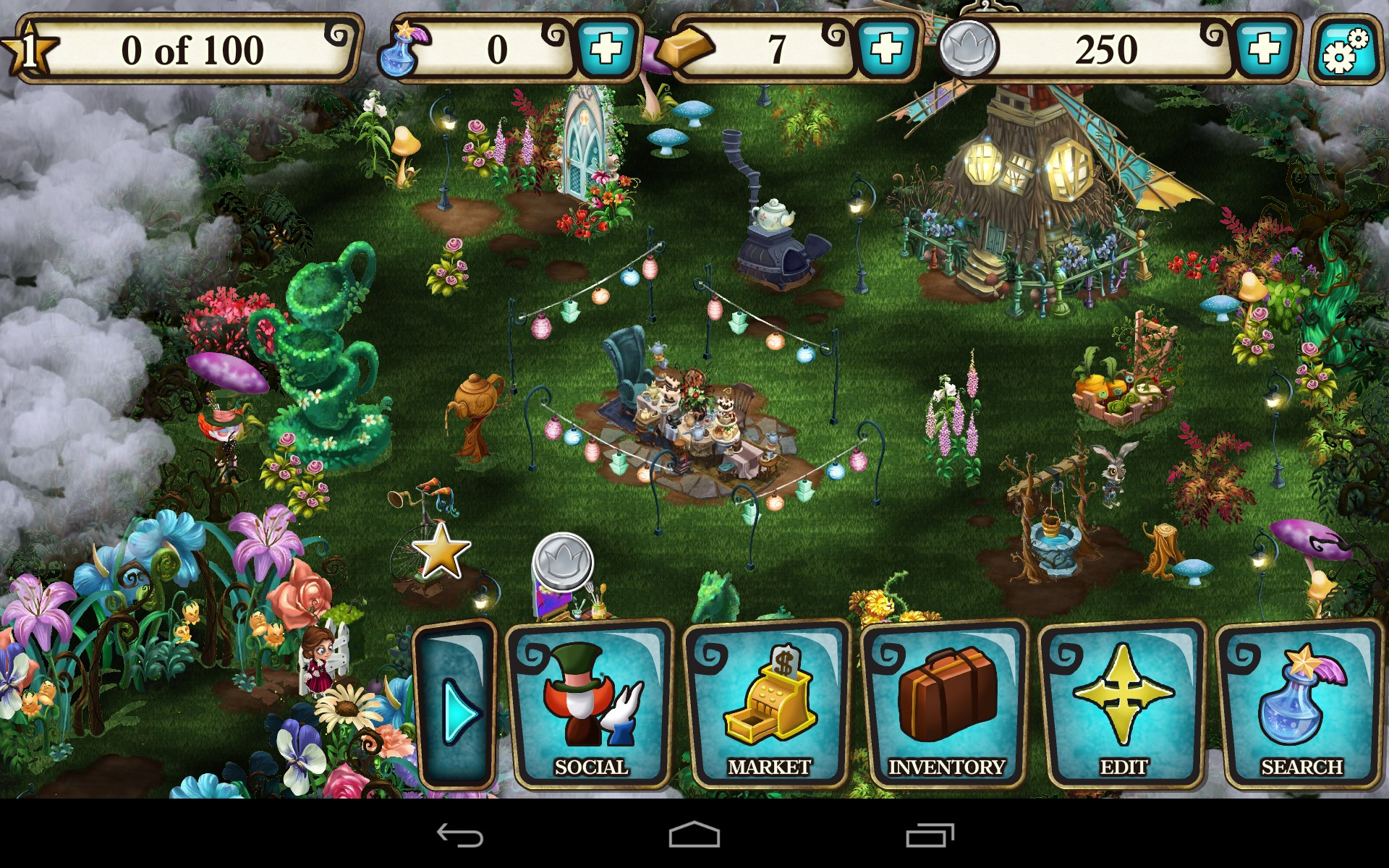 Alice In Wonderland Game