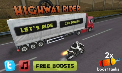 Highway Rider for Samsung i9100 Galaxy S II