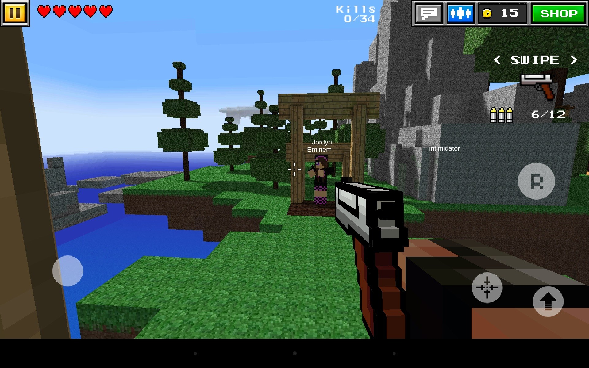 Pixel Gun 3d Games For Android Free Download Pixel