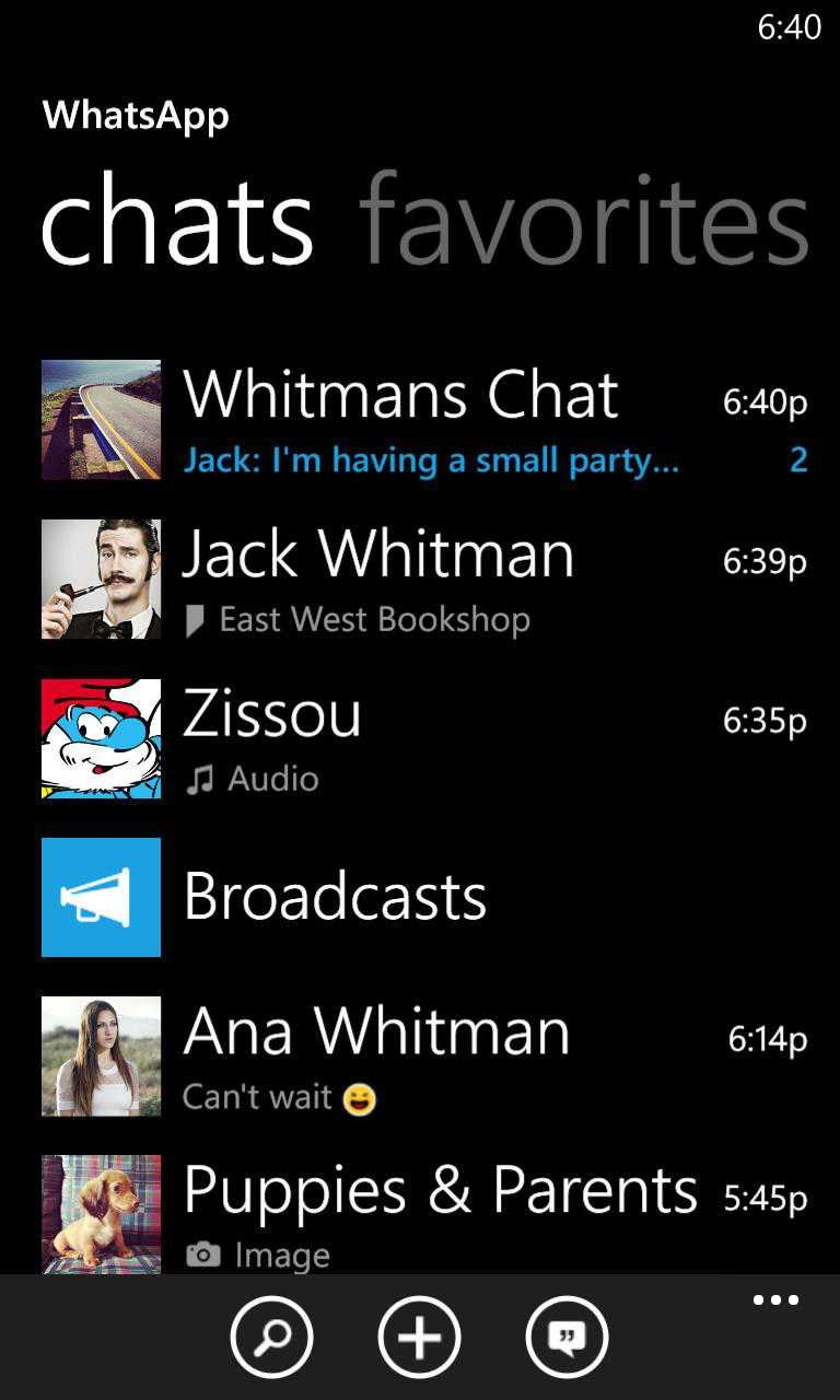 Whatsapp lumia 620 - 6121