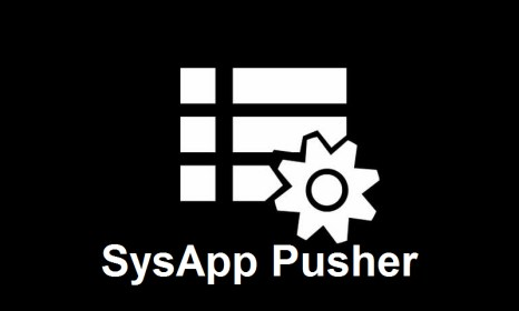 SysApp Pusher