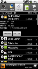 Android System Info for MTS 916