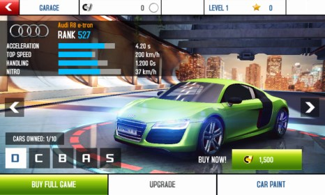 Asphalt 8: Airborne for Nokia Lumia 520