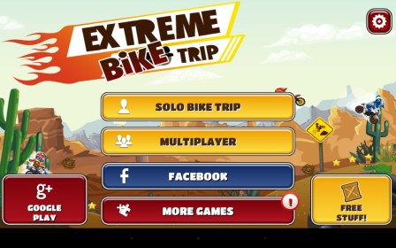 Extreme Bike Trip for HTC Desire Q