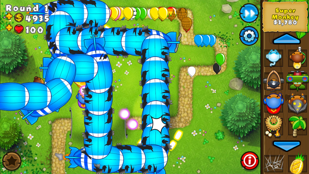 Bloons td 5 jeux pour android bloons td 5 tower defense