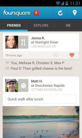Foursquare for Amazon Kindle Fire HD