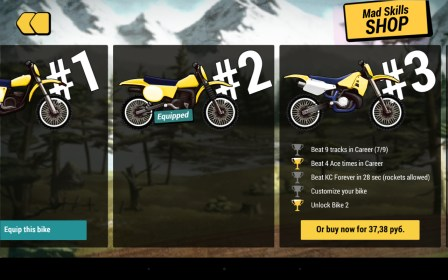 Mad Skills Motocross 2 for LG Gx