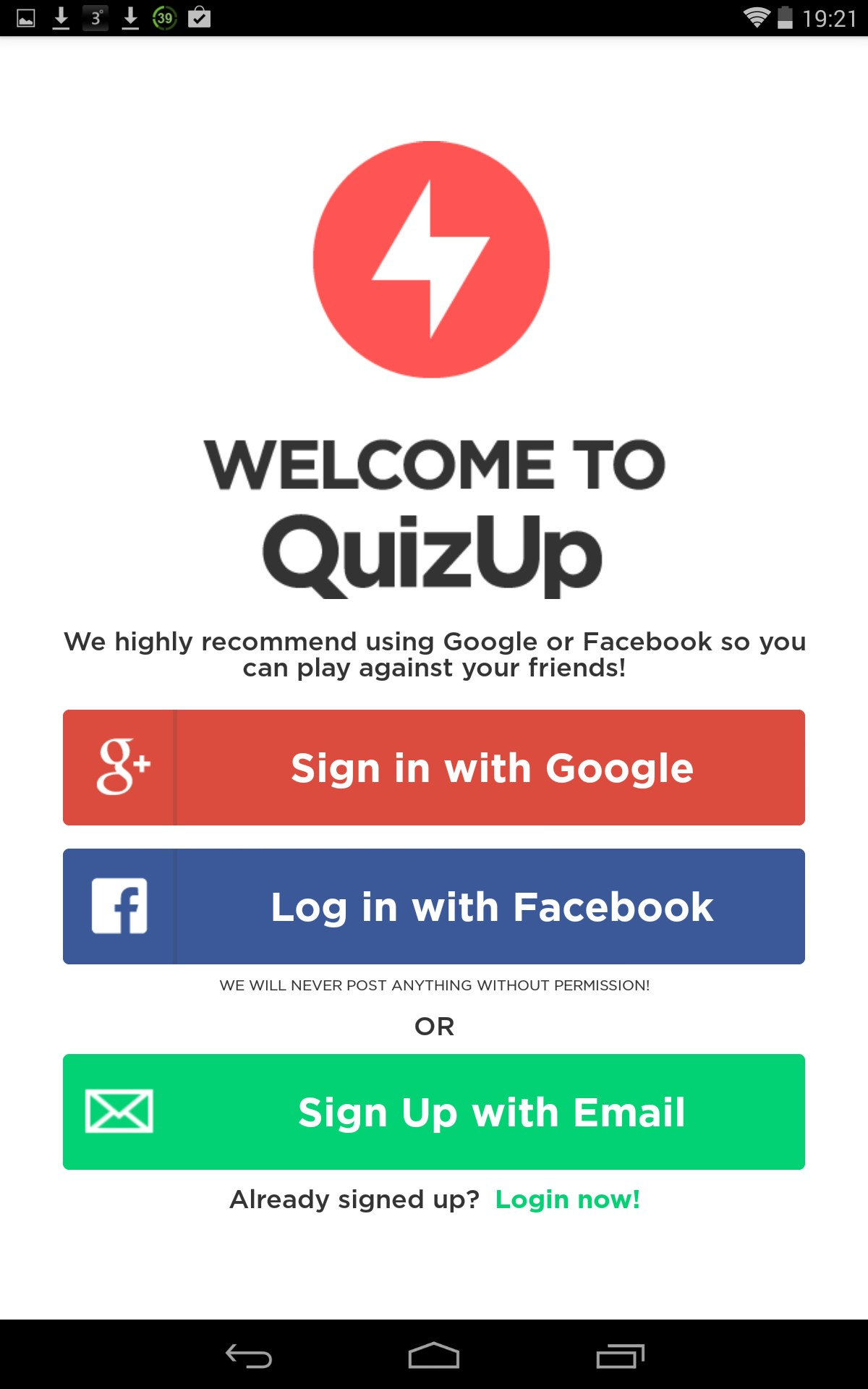 QuizUp \u2013 Games for Android 2018 \u2013 Free download. QuizUp \u2013 Awesome