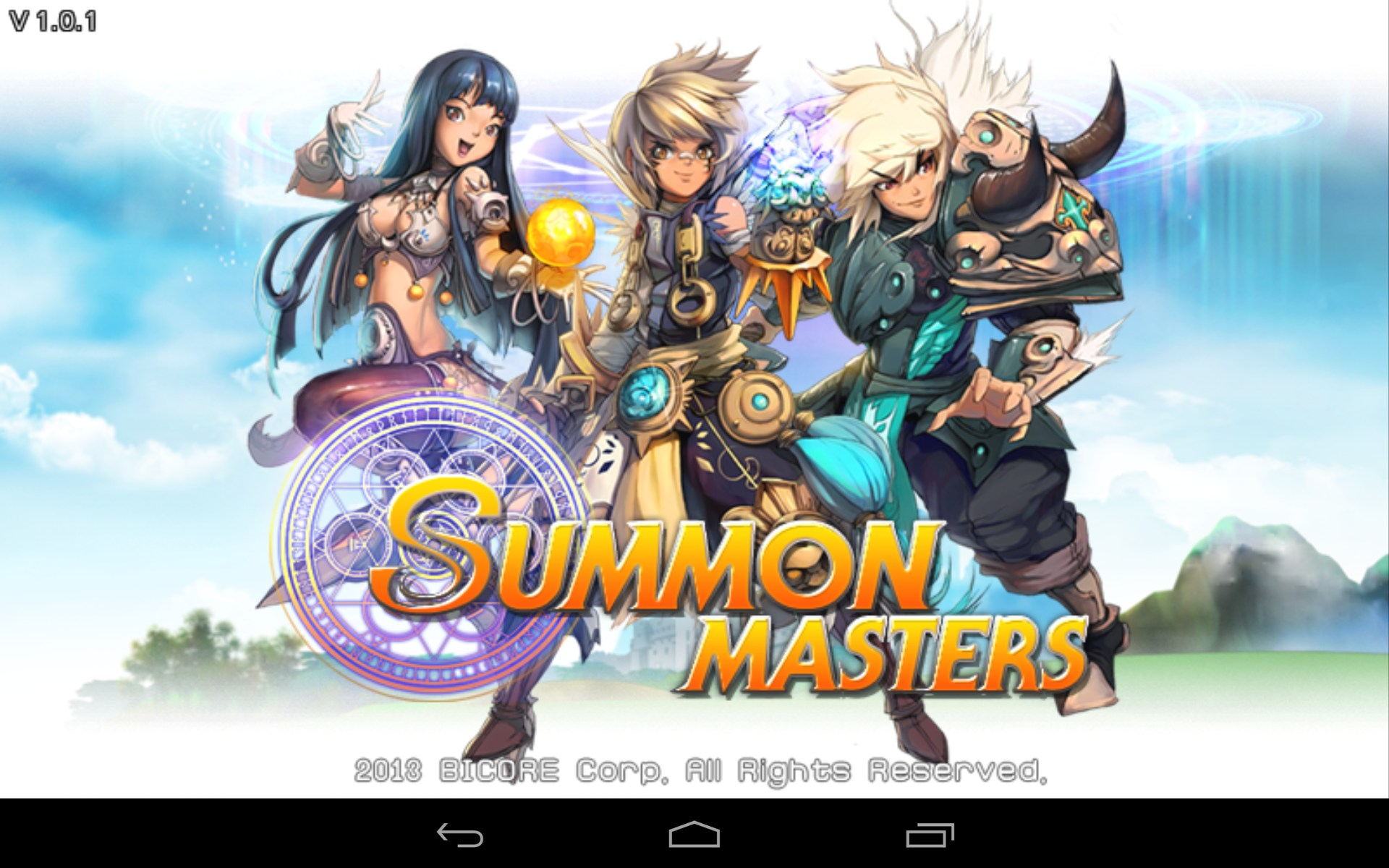 SUMMON MASTERS Games For Android 2018 Free Download
