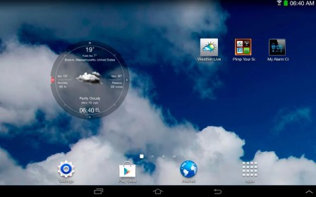 Weather Live para Fly Flylife Connect 7.85