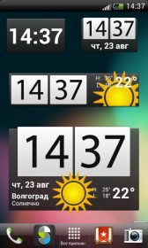 Beautiful Widgets for LG G2