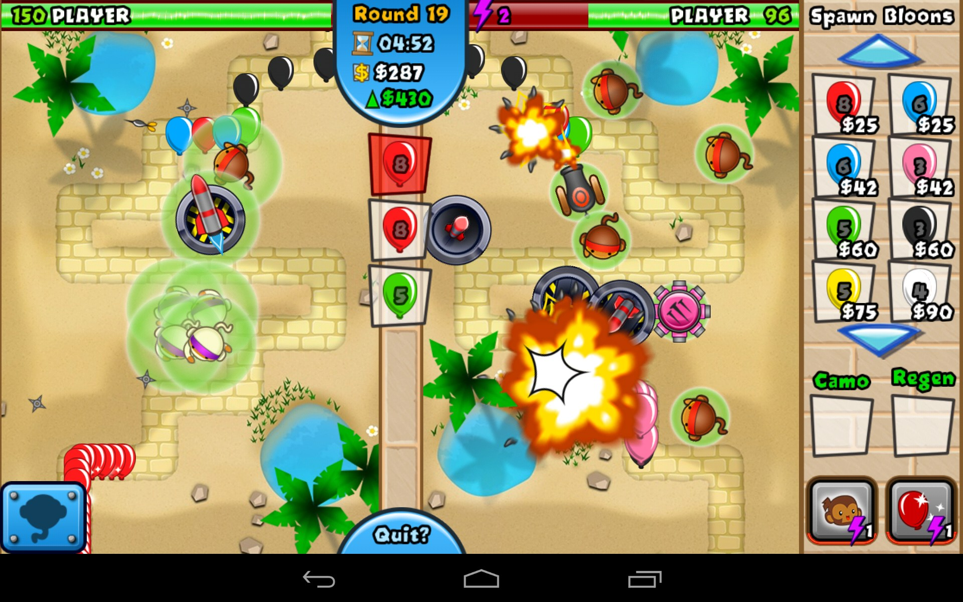 Bloons td battles games for android free download bloons td