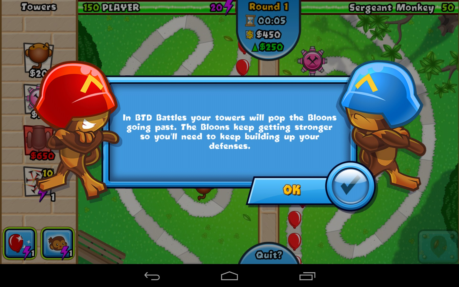 Bloons TD Battles – Games for Android 2018 – Free download