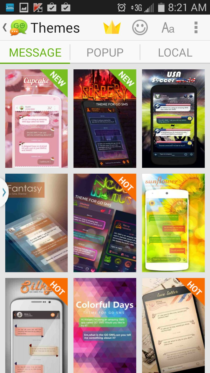 GO SMS Pro – Soft for Android 2018 – Free download  GO SMS Pro – One