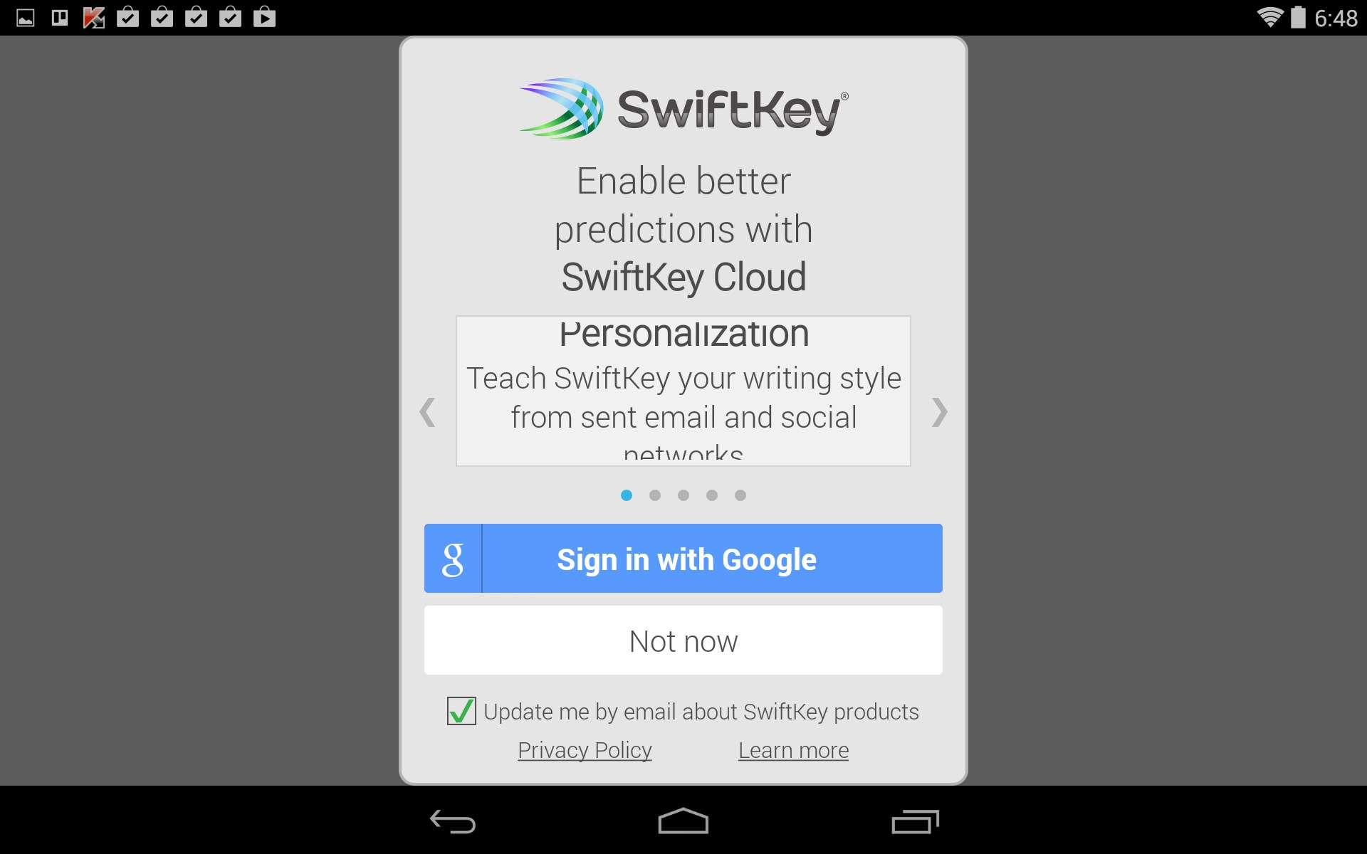 Swiftkey Keyboard – Soft for Android 2018 – Free download