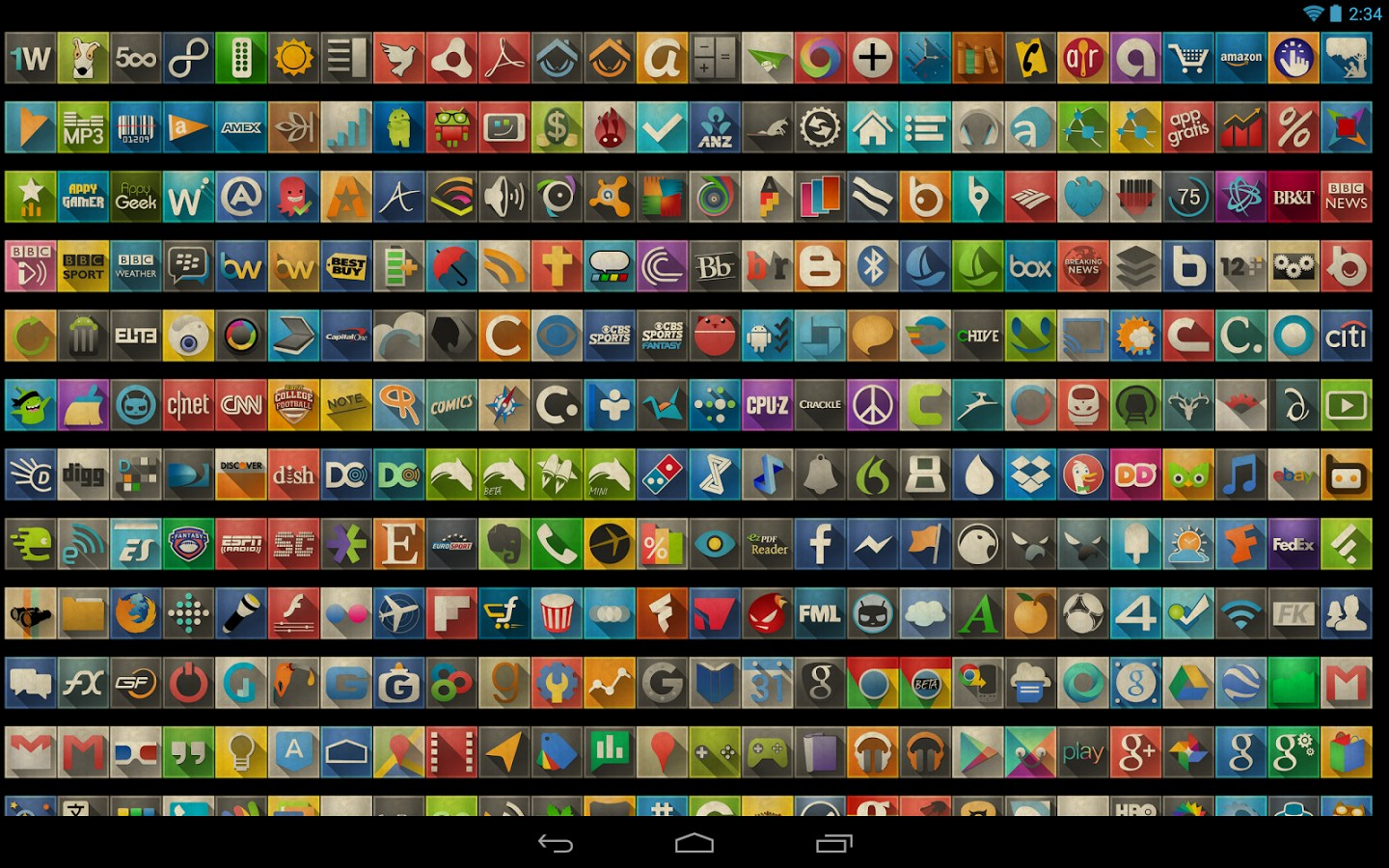 axis icon pack programmes pour android axis icon