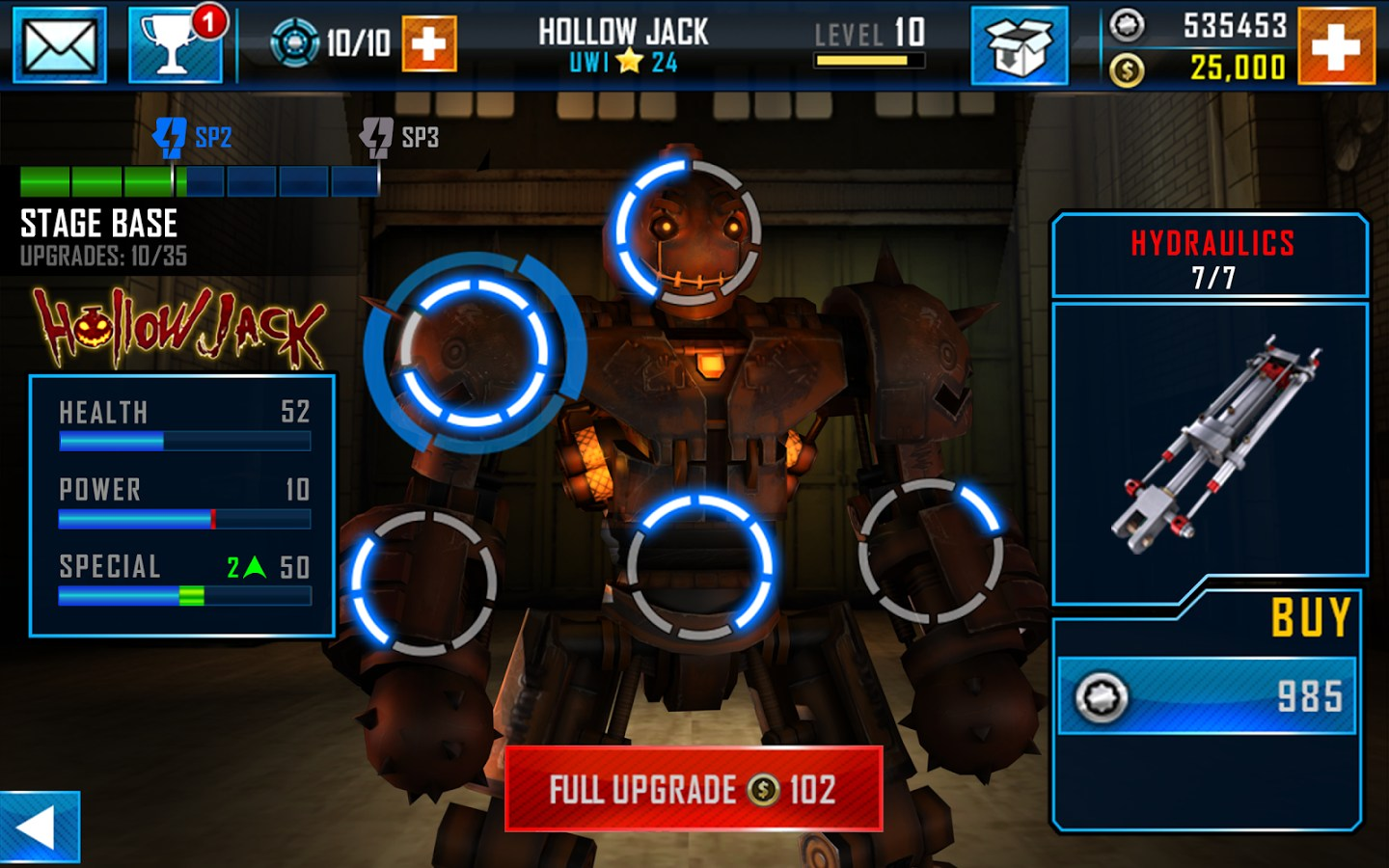 Real steel world robot boxing » free android games.